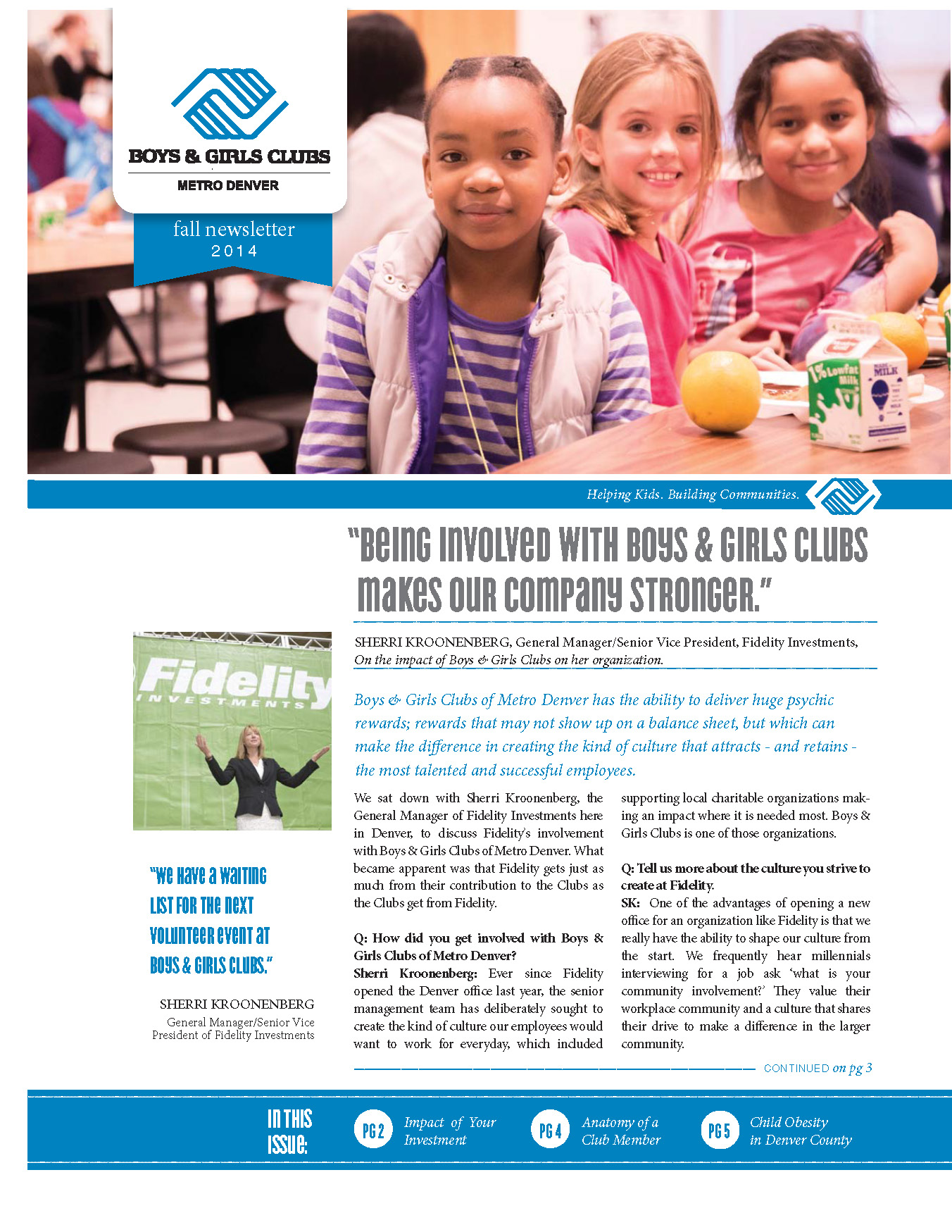 Newsletters  Boys  Girls Clubs Of Metro Denver