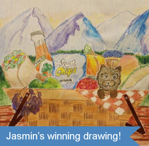 Jasmin's Winning Drawing