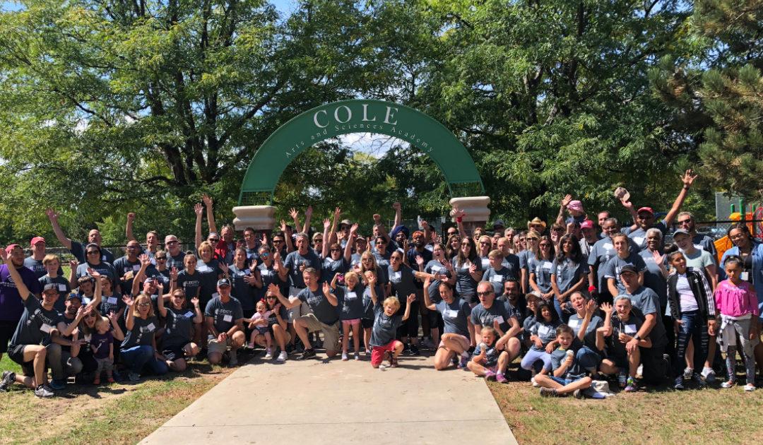 Liberty Global volunteers help refresh Cole Boys & Girls Club