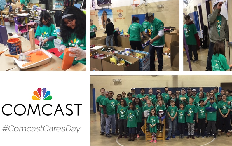 Comcast makes a difference at Boys & Girls Clubs