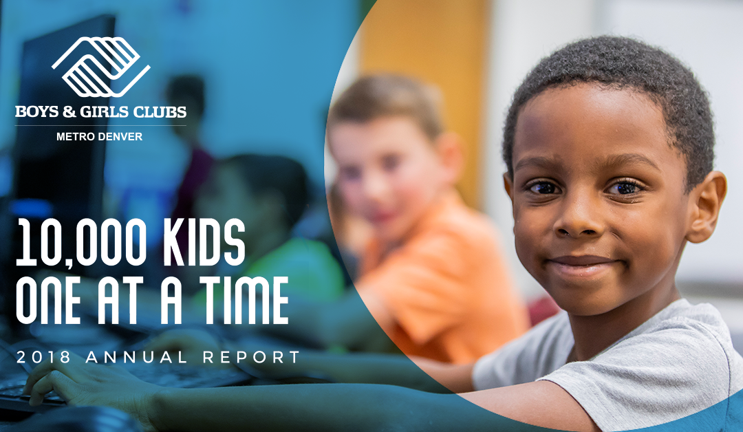 10,000 Kids | 1 at a Time – 2018 Annual Report Released