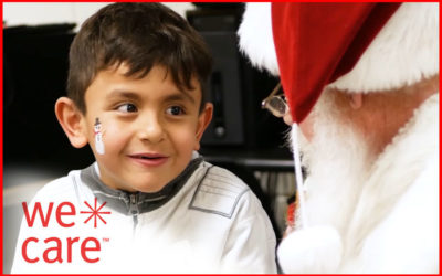 """""""We Care"""" Brings Holiday Cheer to Club Kids"""