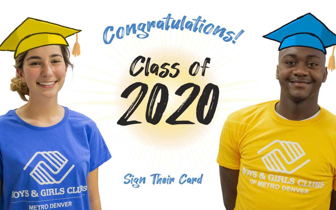 Help Celebrate the Class of 2020