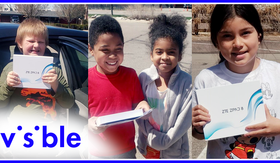 Visible donates tablets and free service to Boys & Girls Club kids