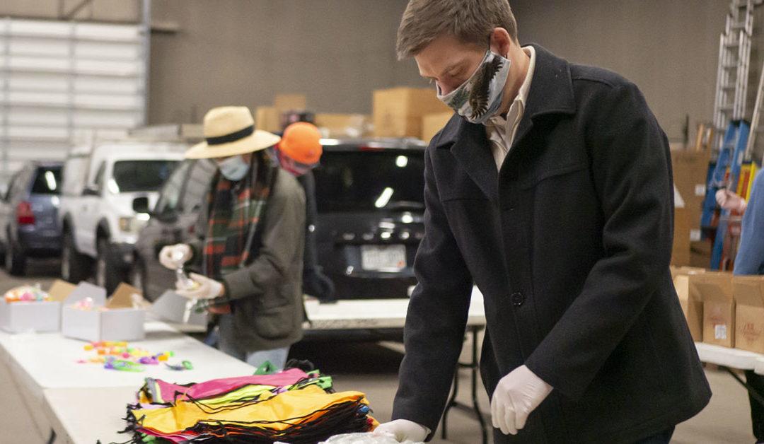 Associate Board Members Help Kids Bring Halloween Home
