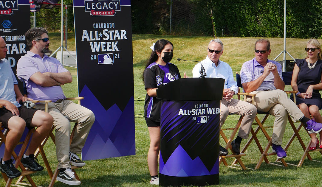 Club Member Mia Leads All-Star Celebrations at our Owen Club