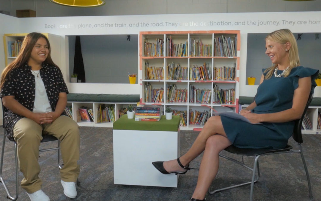 CEO Erin Porteous interviews Gi, Colorado Youth of the Year